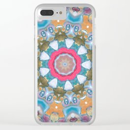 Keeping a low profile Clear iPhone Case