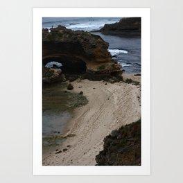 Sea arch Art Print