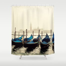 Gondolas in Color Shower Curtain