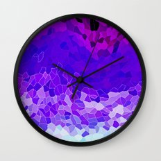 INVITE TO LILAC Wall Clock