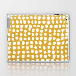 Dots / Mustard Laptop & iPad Skin