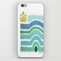 :: Princess n' Pea (Mint) iPhone & iPod Skin