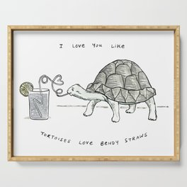 Tortoises Love This Serving Tray