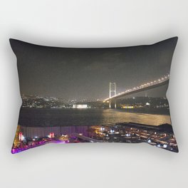 Istanbul Lights! Rectangular Pillow