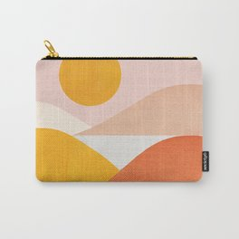 Abstraction_Mountains Carry-All Pouch