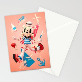Dead Sailor Tom - Popartoons Remix Stationery Cards