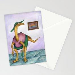 Dressy Dinosaur - Shirley Stationery Cards