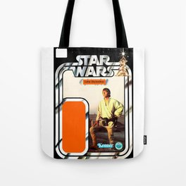 Luke Skywalker (farmboy) Vintage Action Figure Card Tote Bag