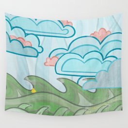 Ducky's Travels: Wind Wall Tapestry