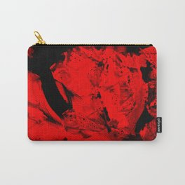 Happy Chaos (Orange) Carry-All Pouch
