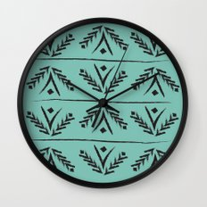 wreath Wall Clock