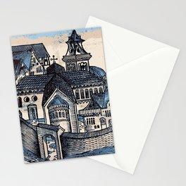 Monastery - Nuremberg Chronicle Stationery Cards