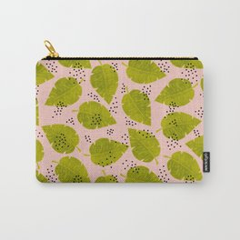 Palm Leaves & Dots Carry-All Pouch