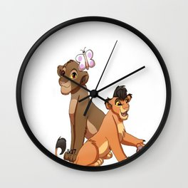Chumvi and Malka Wall Clock