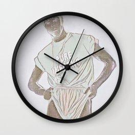 Pure Inferno Wall Clock
