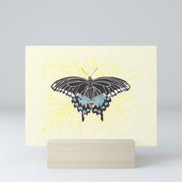 Small Spicebush Swallowtail Mini Art Print