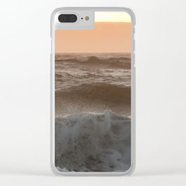 Summer Love Clear iPhone Case