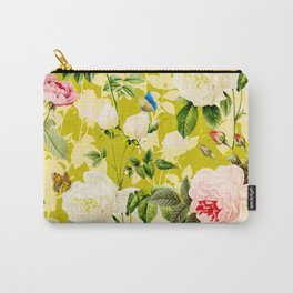 Botanic Floral Carry-All Pouch