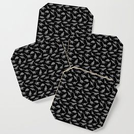 DINOSAURS (BLACK) Coaster