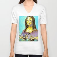 renaissance V-neck T-shirts featuring Renaissance by Jason Perkins Designs
