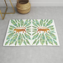 Jaguar – Green Leaves Rug