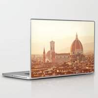 florence Laptop & iPad Skins featuring Florence Cathedral by happeemonkee