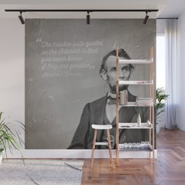 Abraham Lincoln Quote Wall Mural