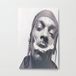 snoop dogg smoking drawing  Metal Print