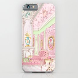 Paris Pink Patisserie iPhone Case