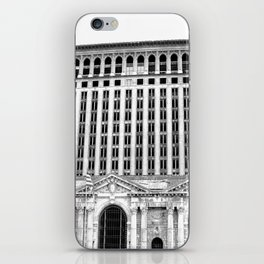 MICHIGAN CENTRAL TRAIN STATION - DETROIT iPhone Skin