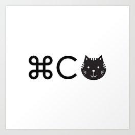 Copycat Art Print