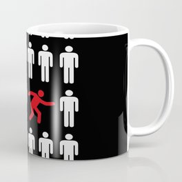be different, be yourself Coffee Mug