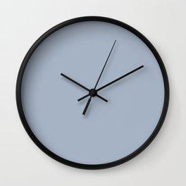 Rope Swag ~ Light Blue Gray Wall Clock