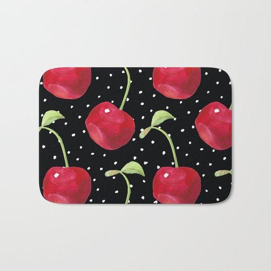 Cherry pattern III Bath Mat