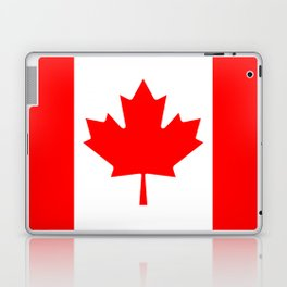 The National Flag of Canada, Authentic color and 3:5 scale version  Laptop & iPad Skin