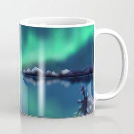 Winter Northern Lights Coffee Mug