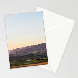 Bridger Range Stationery Cards