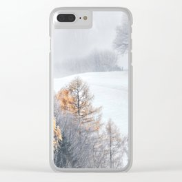 Tree Stand Clear iPhone Case