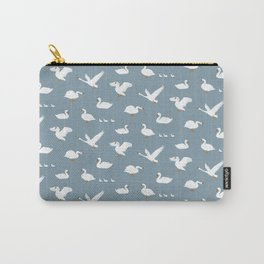 Summertime Swans Carry-All Pouch
