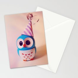Owly BDay Party Stationery Cards