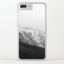 Ausseer Berge I Clear iPhone Case