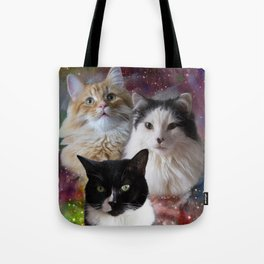 Space Fluffs Tote Bag