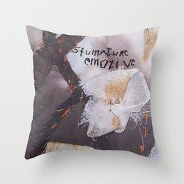 Sfumature emotive Throw Pillow