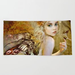 Touch of Gold - Fairy Beach Towel
