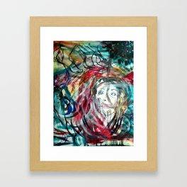 Chaotic Prose Framed Art Print