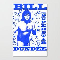 Legendary Memphis Wrestler Bill Dundee Canvas Print