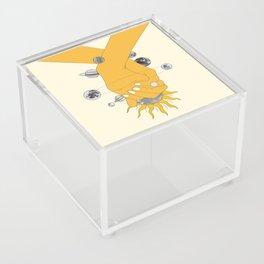 Everything Revolves Around Us Acrylic Box