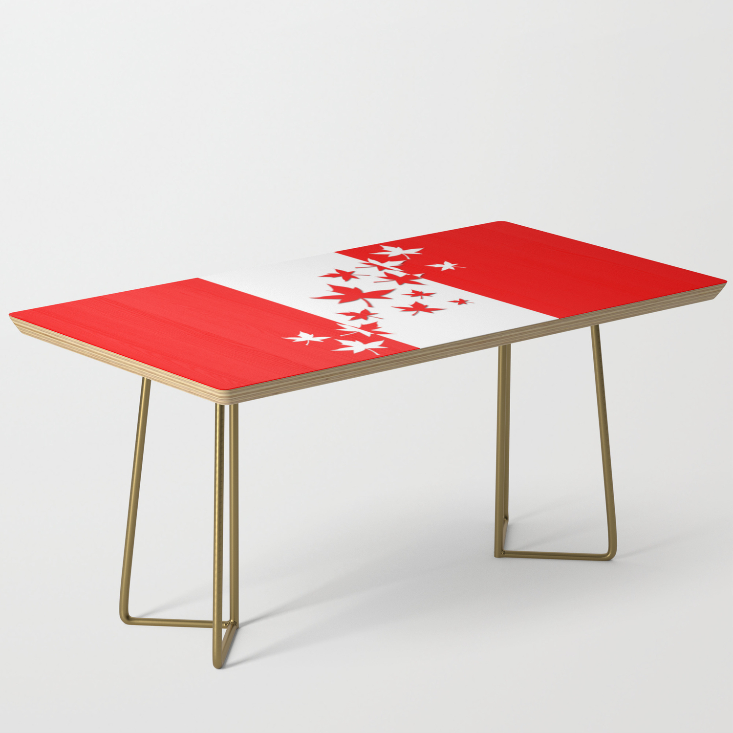 Picture of: O Canada Coffee Table By Artistpride Society6