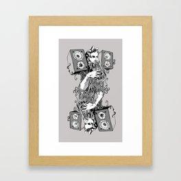 Double Stereo Moses Framed Art Print