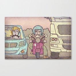 Eixample Canvas Print